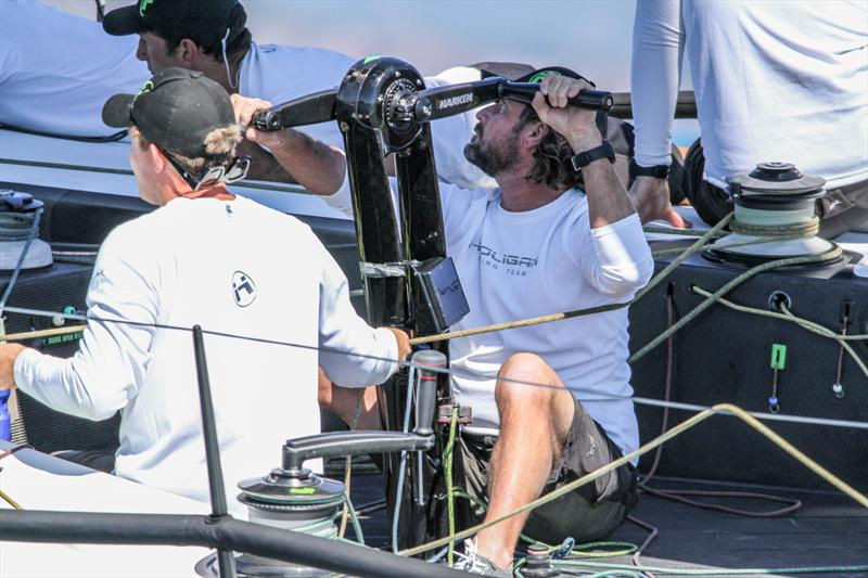 All concentration aboard Hooligan - Day 1 - Hamilton Island Race Week - photo © Richard Gladwell