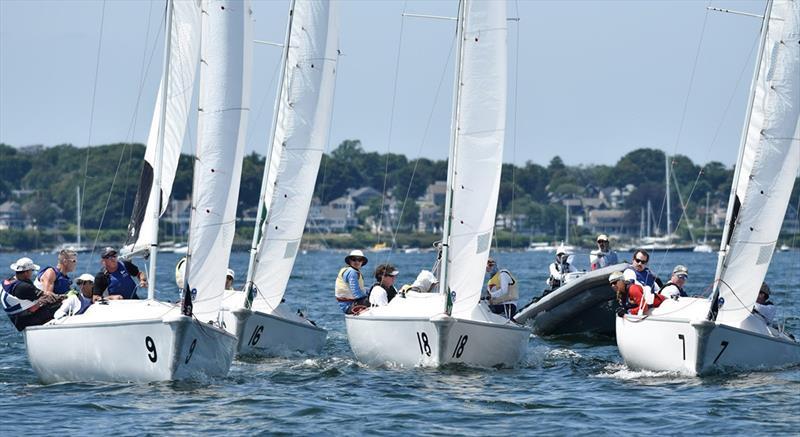 2019 Hinman Trophy Team Race - photo © Stuart Streuli / New York Yacht Club