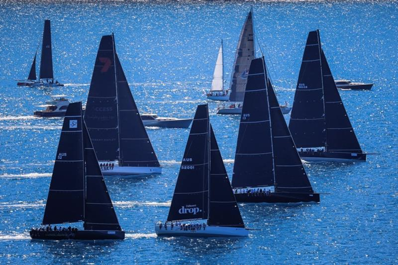 IRC division 1 start on day 2 - Hamilton Island Race Week 2019 - photo © Salty Dingo