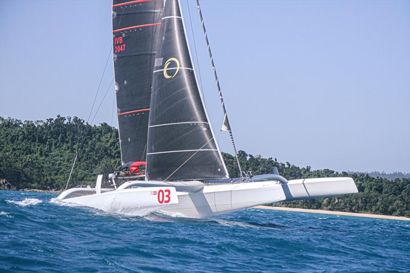 Beau Geste heads upwind - Day 3 - Hamilton Island Race Week, August 20, - photo © Richard Gladwell