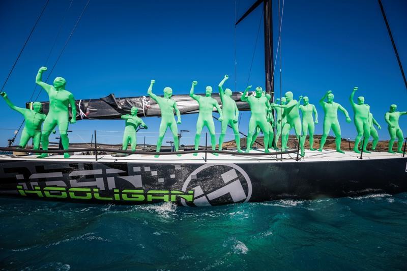The aliens on Hooligan Prix d-Elegance - 2019 Hamilton Island Race Week, day 4 - photo © Salty Dingo