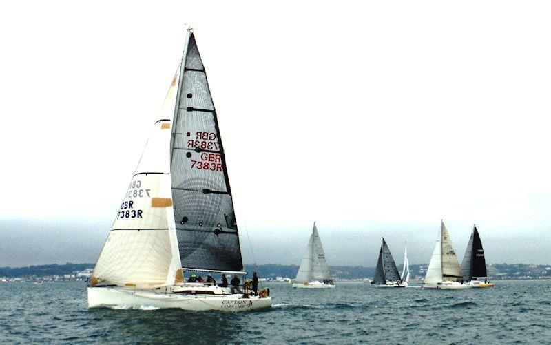 Rossborough Round the Island - Corsaire on the start line - photo © Bill Harris