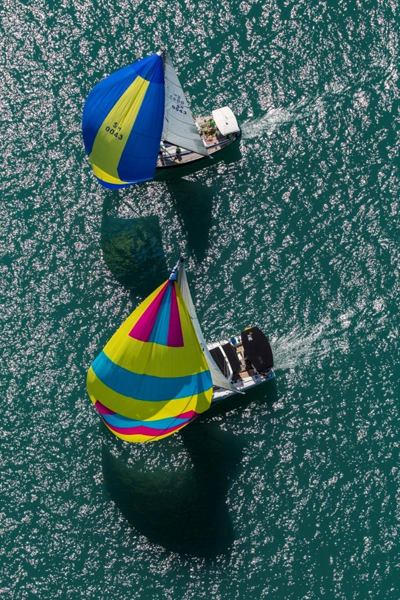 Little Miss Sunshine and Vixen 1 go head to head - SeaLink Magnetic Island Race Week, final day - photo © Andrea Francolini / SMIRW