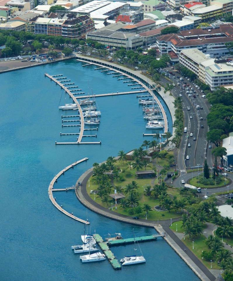 Marina of the Port Master of Papeete - photo © Courtesy photo
