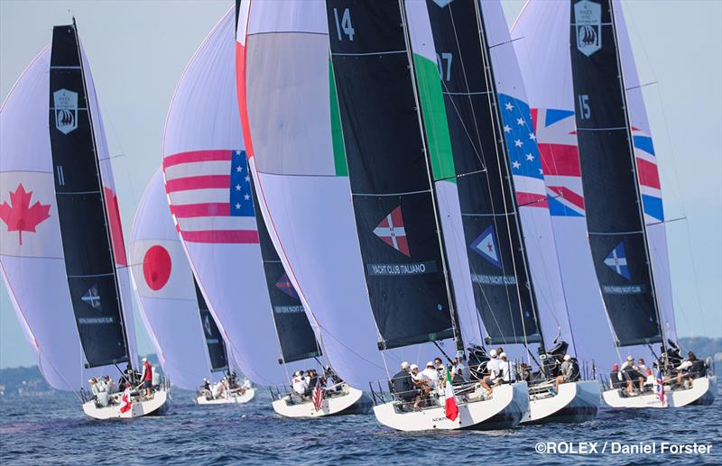 2019 Rolex New York Yacht Club Invitational Cup photo copyright Rolex / Daniel Forster taken at New York Yacht Club and featuring the IRC class