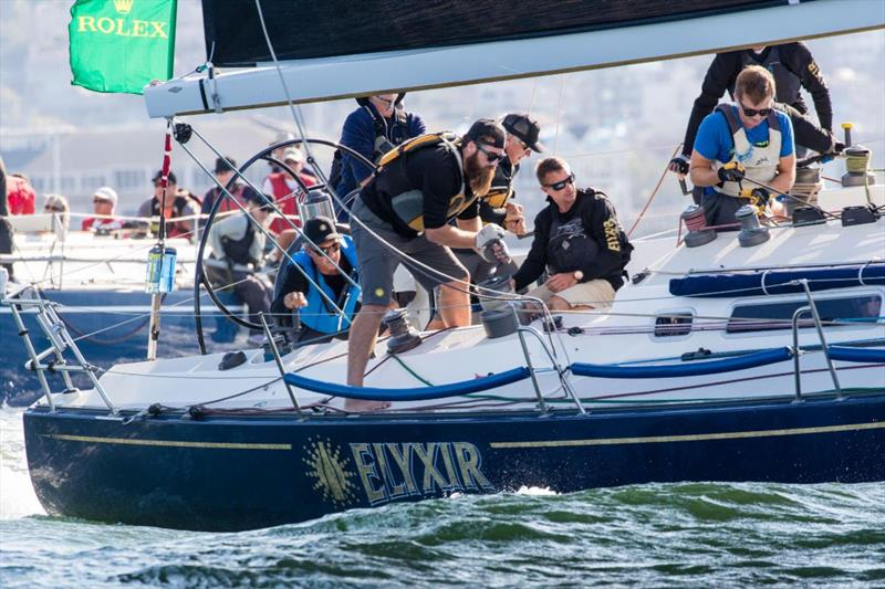 Elyxir won the day and sits at third overall in ORR-A - 2019 Rolex Big Boat Series - photo © Rolex / Sharon Green