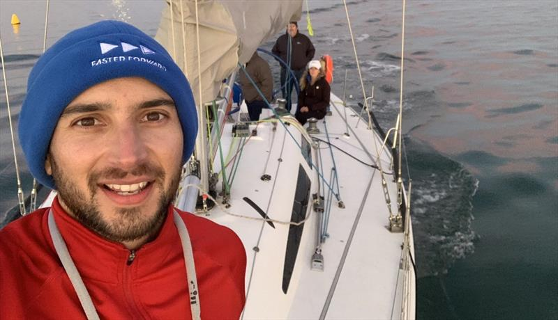 Alvaro Maz - championed 'Plastics out of the Ocean' in the Apollo Bay race - photo © Ocean Racing Club of Victoria