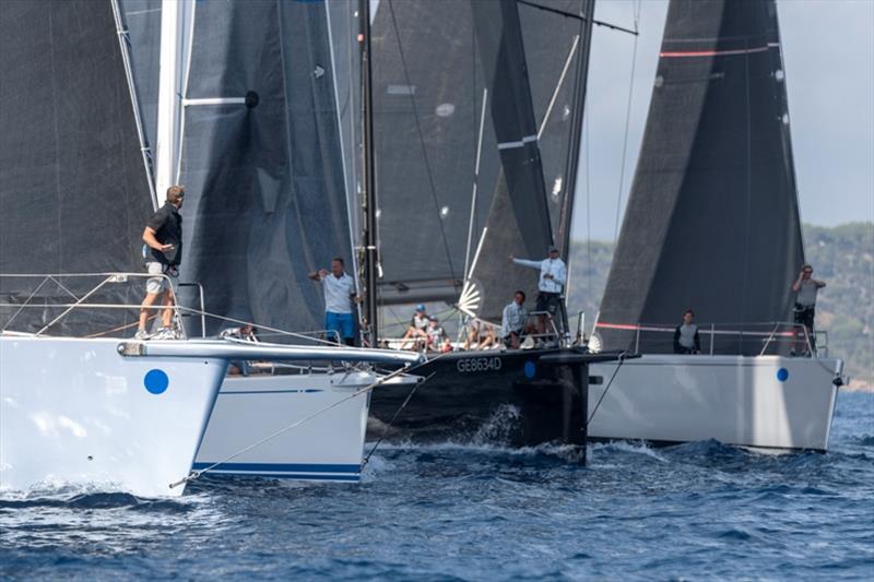 2019 Les Voiles de Saint-Tropez, Day 2 - Maxi racing gets underway