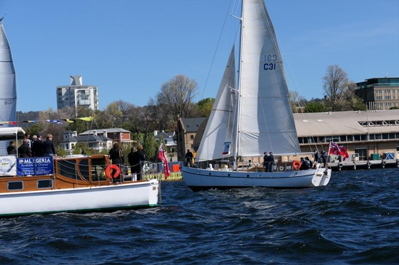Westward - Sailing Season on the Derwent - photo © Peter Campbell