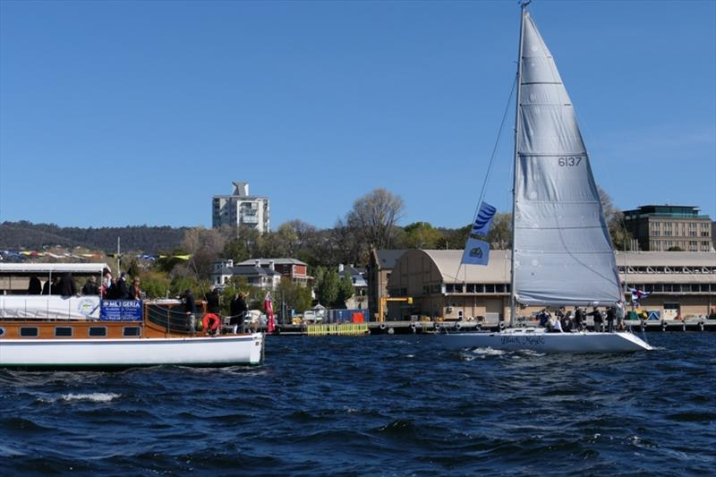 Black Magic and Egeria - Sailing Season on the Derwent - photo © Peter Campbell