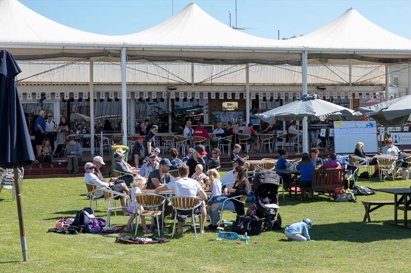 The social scene at the Lipton Cup is infectious - photo © Harry Fisher