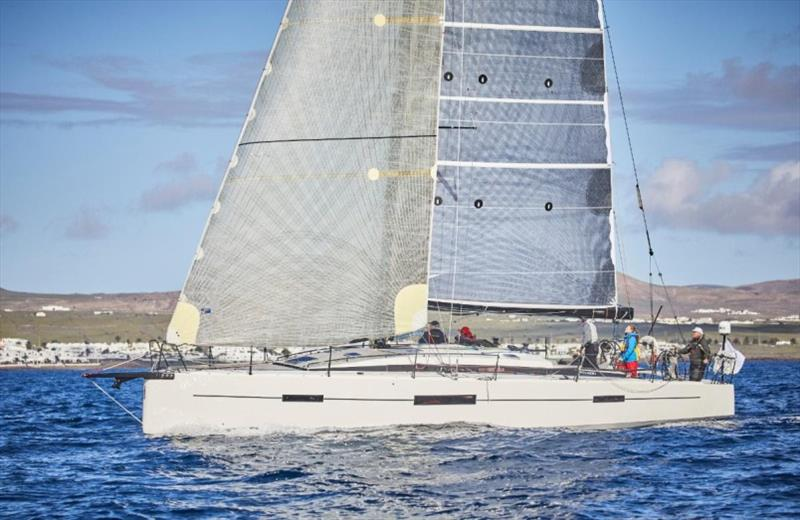 Unfinished business for Giles Redpath's Lombard 46 Pata Negra - seen here at the start of the 2016 RORC Transatlantic Race in Lanzarote photo copyright James Mitchell taken at Royal Ocean Racing Club and featuring the IRC class