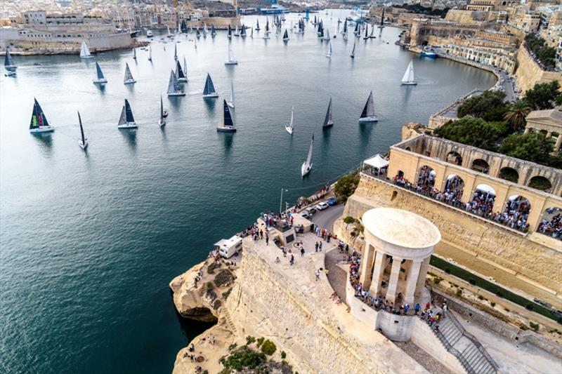 2019 Rolex Middle Sea Race, day 1 - photo © Kurt Arrigo / Rolex