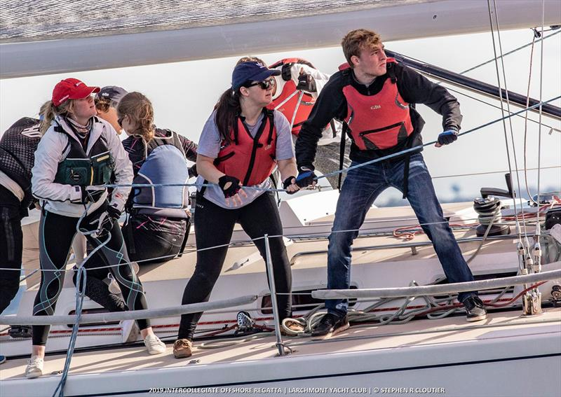 2019 Intercollegiate Offshore Regatta photo copyright Steve Cloutier taken at Storm Trysail Club and featuring the IRC class
