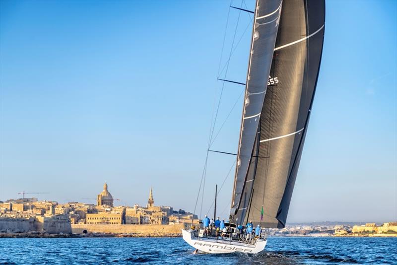 2019 Rolex Middle Sea Race Day 4 - Open window