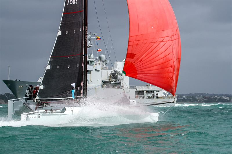 Attitude - PIC Coastal Classic - Start - Waitemata Harbour - October 25, - photo © Richard Gladwell, Sail-World.com / nz