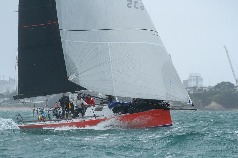 Clockwork - PIC Coastal Classic - Start - Waitemata Harbour - October 25, 2019 - photo © Richard Gladwell / Sail-World.com