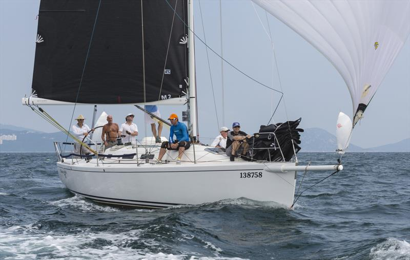 Whiskey Jack cruising to a win in this year's China Coast Regatta 2019 - photo © Guy Nowell / RHKYC
