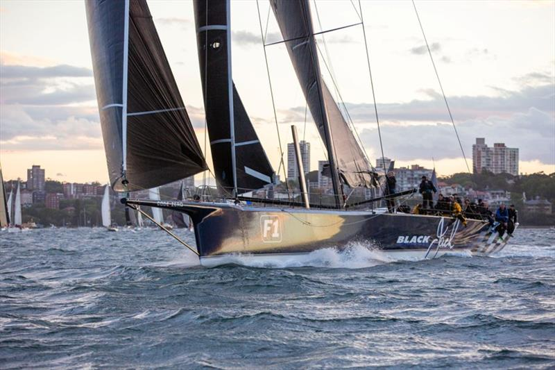 Black Jack takes the lead with the race record in their sight - Cabbage Tree Island Race, Day 1 - photo © CYCA