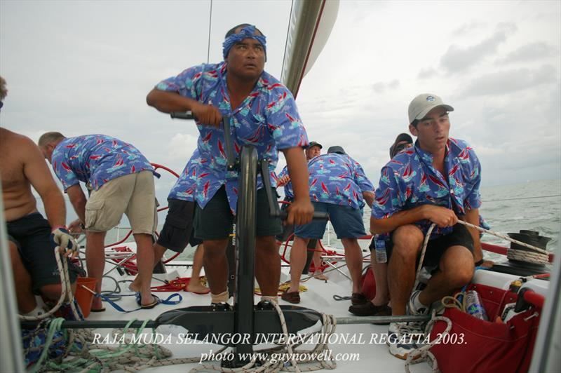 Hollywood Boulevard. Raja Muda Selangor International Regatta 2003. - photo © Guy Nowell / RMSIR