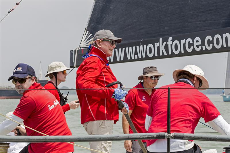Ray Roberts, Team Hollywood. Raja Muda Selangor International Regatta 2019. - photo © Guy Nowell / RHKYC