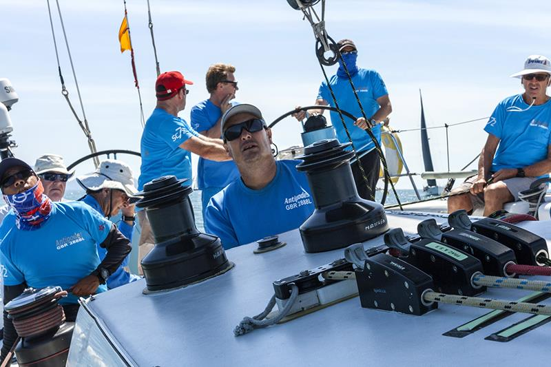 On board Antipodes, Penang-Langkawi race. Raja Muda Selangor International Regatta 2019. - photo © Guy Nowell / RMSIR