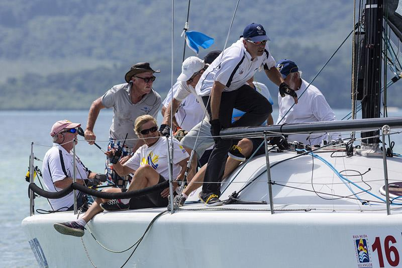 The other Farr 40: Ramrod. Royal Selangor International Regatta 2019. - photo © Guy Nowell / RMSIR