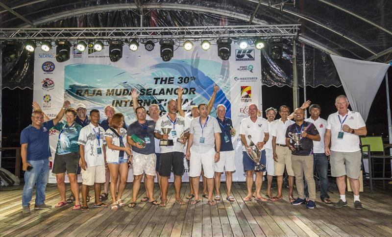 Every one a winner: past winners of the Raja Muda Selangor International Regatta. - photo © Guy Nowell / RMSIR