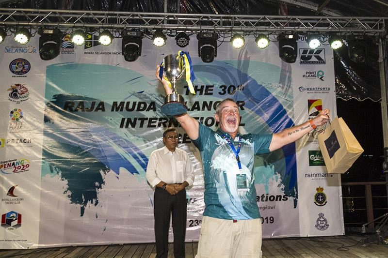 Hallelujah! Rainbow Dream wins Class 3. Raja Muda Selangor International Regatta 2019. - photo © Guy Nowell / RMSIR