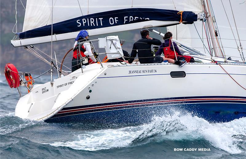 Spirit of (the great) Freya - CYCA Bird Island Race - photo © Bow Caddy Media