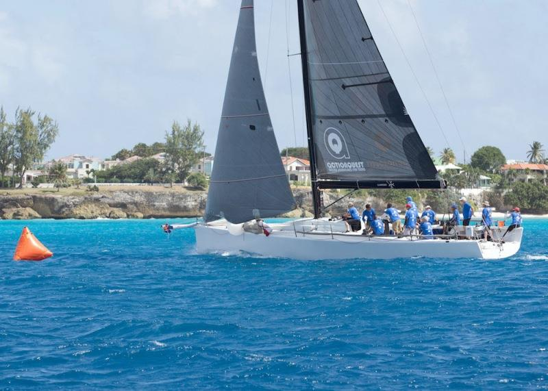 The vibrant blue waters of Barbados make for a magical sailing experience - Barbados Sailing Week photo copyright Peter Marshall taken at Barbados Cruising Club and featuring the IRC class