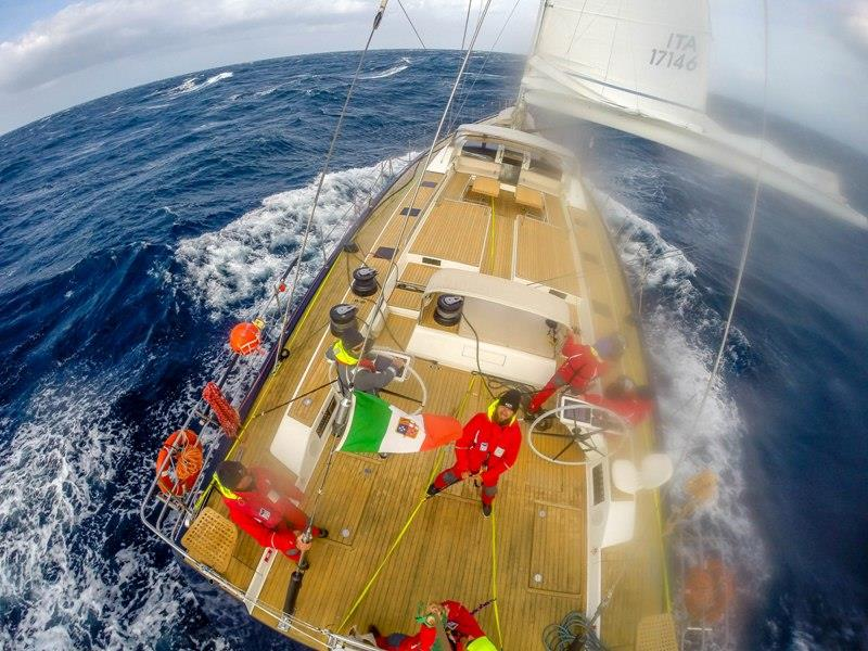 Stern GoPro, Almorgeres II - Cape2Rio Ocean Race - photo © Jack Evans