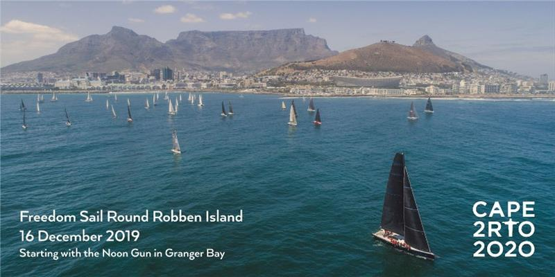 Cape2Rio2020 Ocean Race: #Sail4Good and the Freedom Sail Round Robben Island