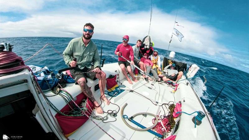 Transpac race aboard Schock 40 Gamble - photo © Justin Edelman