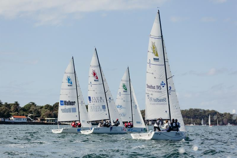 First NSL Oceania Final on Sydney Harbour photo copyright Darcie Collington Photography taken at  and featuring the IRC class