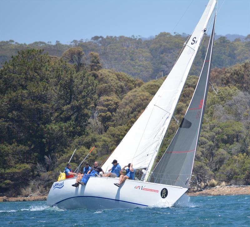Lawless - Launceston to Hobart Yacht Race 2019 - photo © Colleen Darcey