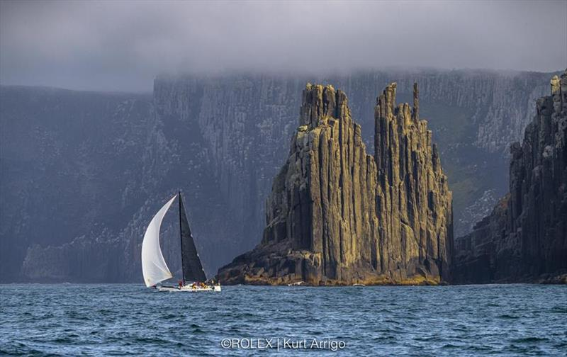 Hartbreaker arrived into Hobart yesterday afternoon with the second surge of yachts in the 2019 Rolex Sydney Hobart. - photo © Rolex / Kurt Arrigo