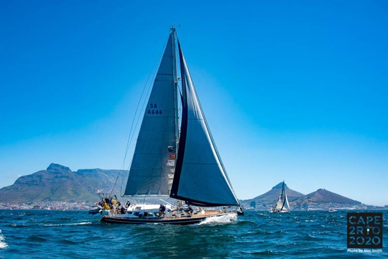 Cape2Rio2020 Ocean Race - First start - photo © Alec Smith
