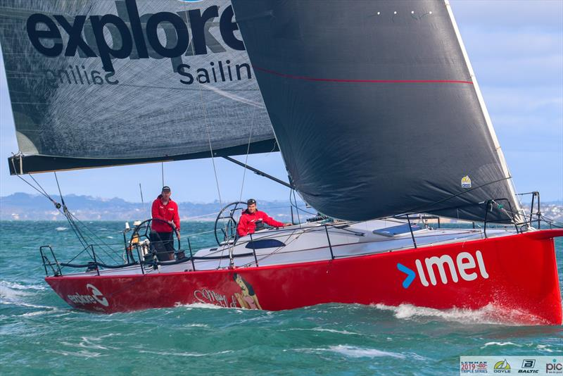 Miss Scarlet - Preview - SSANZ Round North Island Yacht Race - January 2020 - photo © Deborah Williams