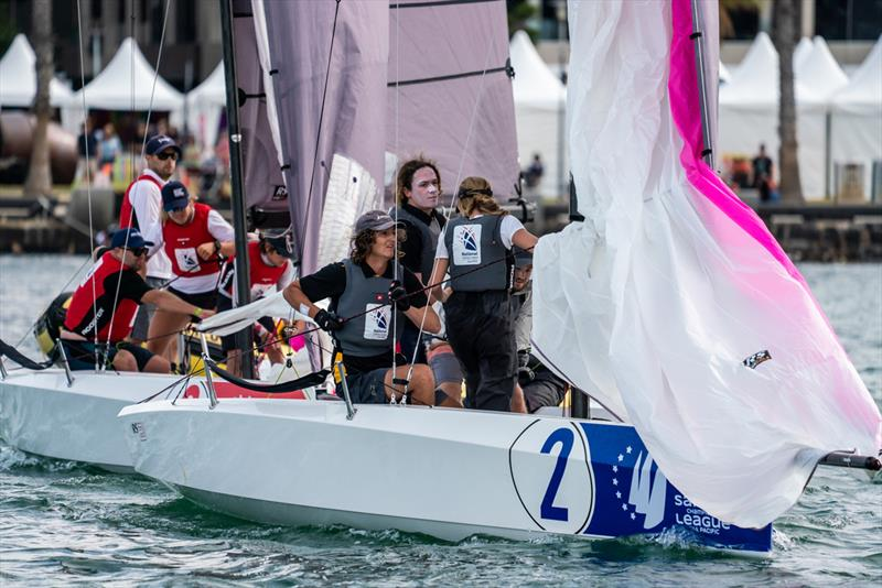 Tasmanians dominate Sailing Champions League - Asia Pacific Southern Qualifier