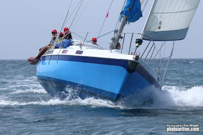 Jonathan Gittens' Morgan 41 Shangri La - 2020 Grenada Sailing Week - photo © Tim Wright