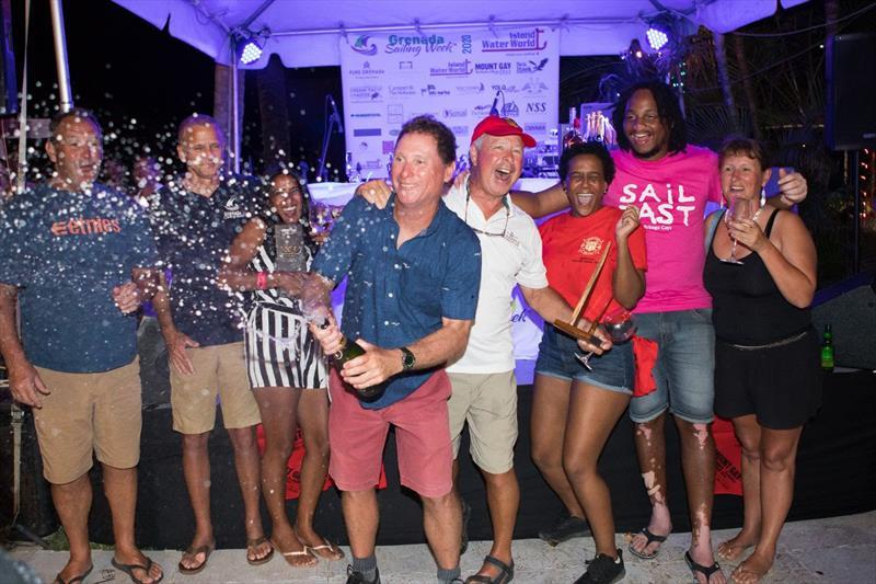 Jonathan Gittens' Morgan 41 Shangri La (BAR) - 2020 Grenada Sailing Week - photo © Arthur Daniel