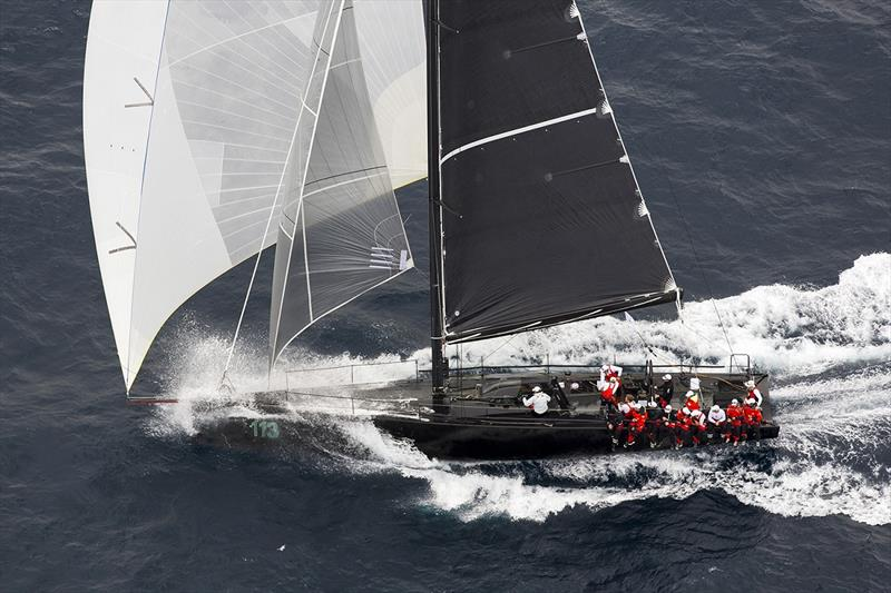 2015 Rolex Sydney to Hobart Yacht Race - Chinese Whisper hurtling to Hobart photo copyright Andrea Francolini taken at Cercle Nautique Calédonien and featuring the IRC class