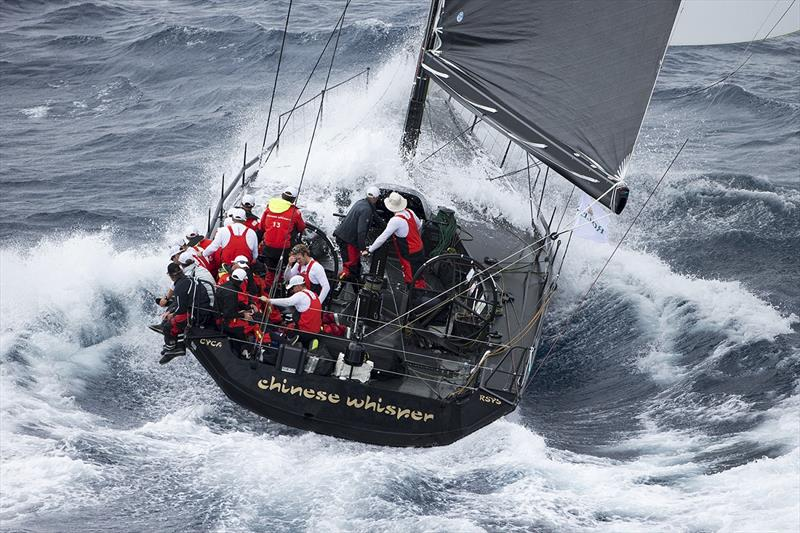 2015 Rolex Sydney to Hobart Yacht Race - David Griffith and Rupert Henry's JV62 Chinese Whisper photo copyright Andrea Francolini taken at Cercle Nautique Calédonien and featuring the IRC class
