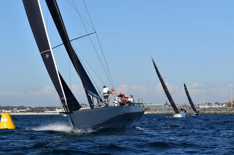 Indian leads at Day Buoy - 2020 Bunbury and Return Ocean Race - photo © Susan Ghent