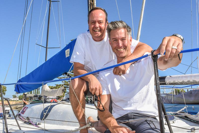David Oliver and Caillin Howard will sail Aikin Hames Sharley in this year's Teakle Classic Adelaide to Port Lincoln Yacht Race - photo © Harry Fisher