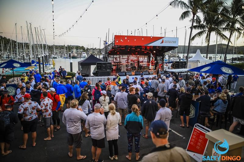 After racing fun on Front Street - Hamilton Island Race Week - photo © Craig Greenhill / Salty Dingo
