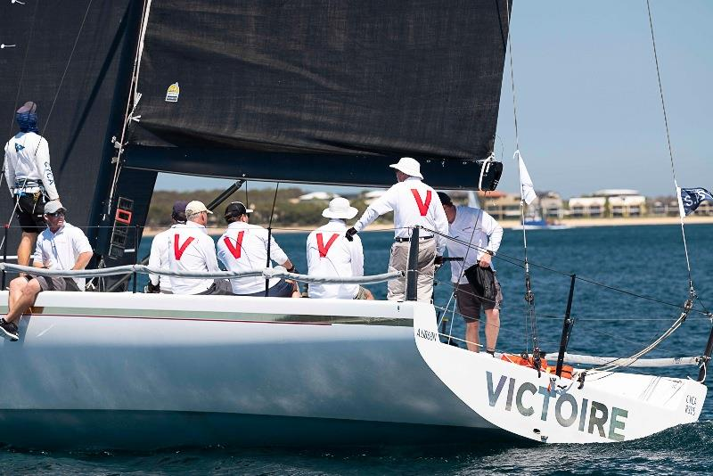 Darryl Hodgkinson's Victoire had a strong showing in division two and leads the way on IRC - 2020 Teakle Classic Lincoln Week Regatta - photo © Joe 'Bugs' Puglisi