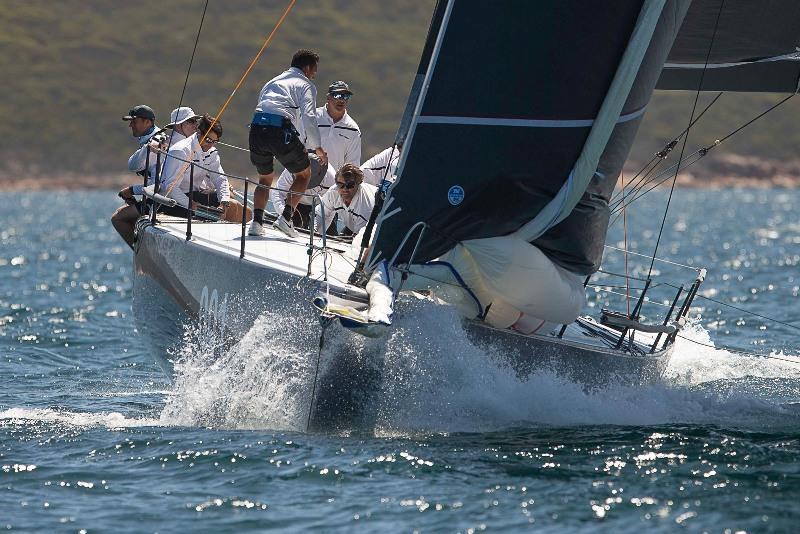 Matt Allen's Ichi Ban is ahead on IRC in division one after the first day of racing - 2020 Teakle Classic Lincoln Week Regatta - photo © Joe 'Bugs' Puglisi
