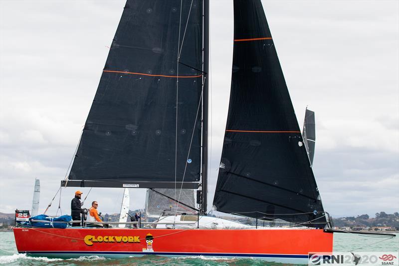 Clockwork - Leg 4 of the Evolution Sails Round North Island Race 2020 - photo © SSANZ